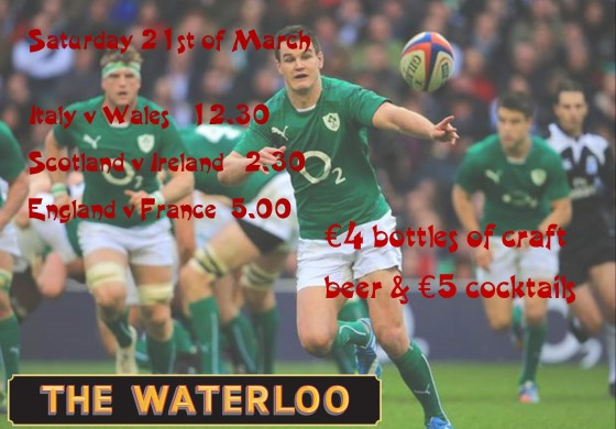 6 Nations round 5 at The Waterloo