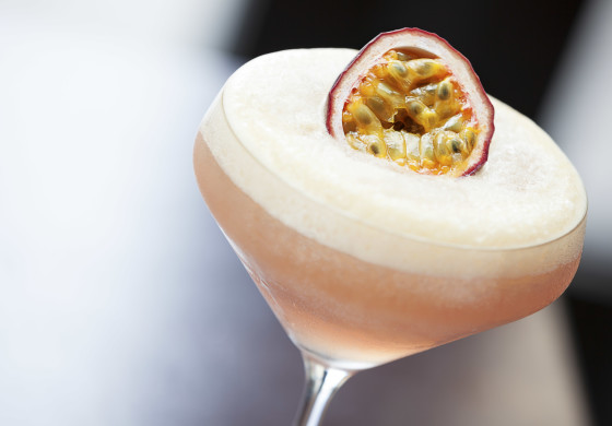 Cocktail with a passionate kick