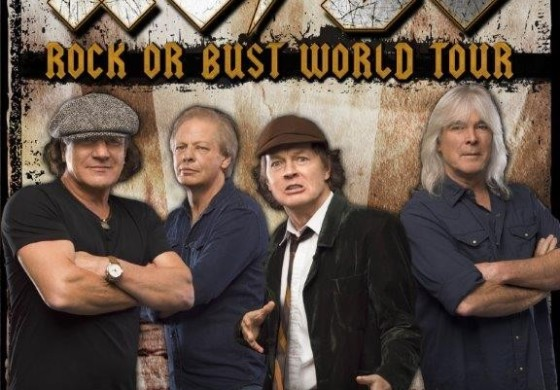 ACDC Rock or Bust World Tour - Dublin