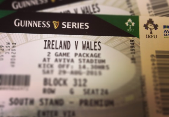 Ireland v Wales in the Aviva