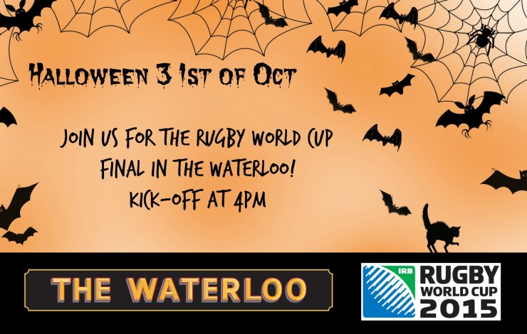 Halloween - Rugby World Cup Final
